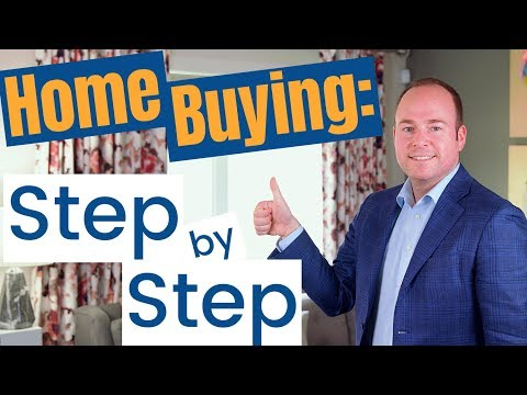 First Time Home Buying Process: Step By Step Guide To Buying A Home