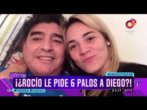 ¡¿Rocío le pide 6 palos a Diego?!