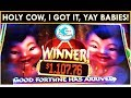 *MAJOR WIN!* Fu Dao Le Slot Machine HUGE WIN! TICKLING THE BABIES WORKS!