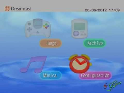 Dreamcast Interface do console ( Canal LL )