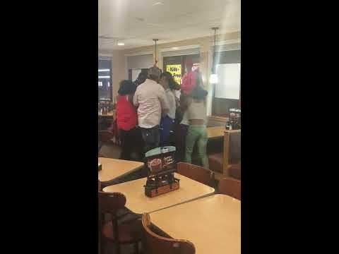 IHOP brawl in Irvington Nj