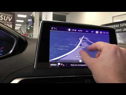 Peugeot 3008 essai iCockpit et réactivité système multimedia