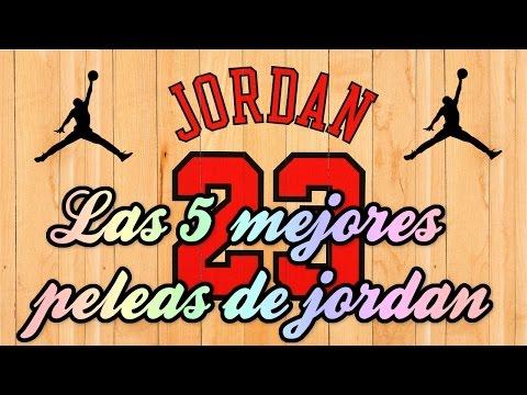 Las 5 mejores peleas de Michael Jordan #23