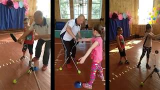 Теннис :).Tennis Play and Stay. Группа детей - 1 месяц занятий.The first month of training.