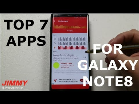 Top 7 BEST Apps For Galaxy Note 8!!