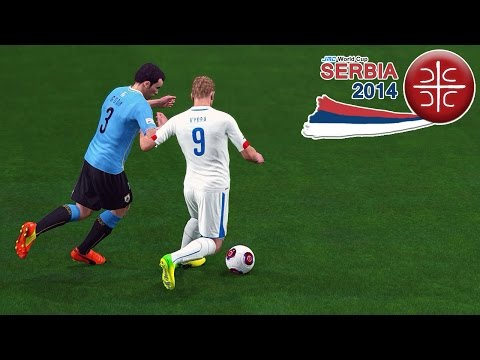 Uruguay Vs. Czech Republic | Jmc World Cup Serbia 2014 | Pro Evolution Soccer 2014 (PES 2014)
