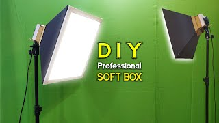 HOW TO MAKE DIY Professional SOFT BOX out of Cardboard   Softbox kaise banaye screenshot 5