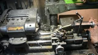 Ужас после расточки цилиндра на токарном станке.