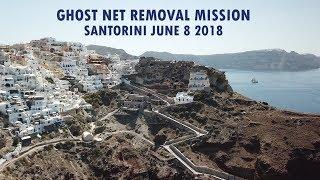 Recap Santorini Ghost Net Removal Dive - June 8, 2018