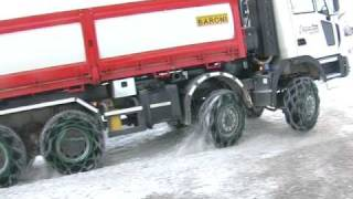 Weissenfels tire chains Master Studded
