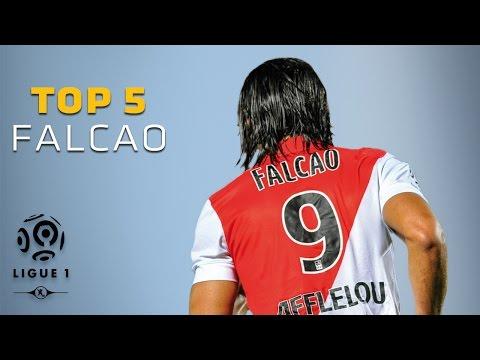 Radamel Falcao - Top 5 Goals / AS Monaco
