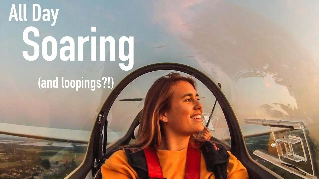 Glider Pilot Life: LONGEST flying day! (sunrise to sunset)