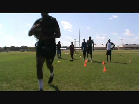 Chase Terry #80 TE Blinn College Football Off-Season Conditioning