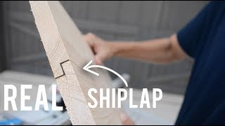 How to Make Your Own Shiplap