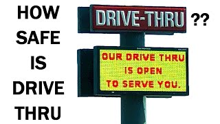 Is It Safe To Eat Food From A Drive-Thru? Coronavirus Safety Tips (COVID-19) & Cleaning Credit Cards