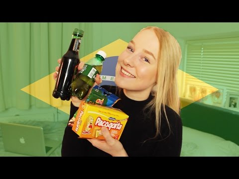 TRYING BRAZILIAN SNACKS!! [MAIL TIME]