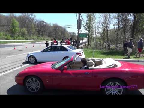 Exotics Leaving Paul Miller Cars And Croissants -Part 2