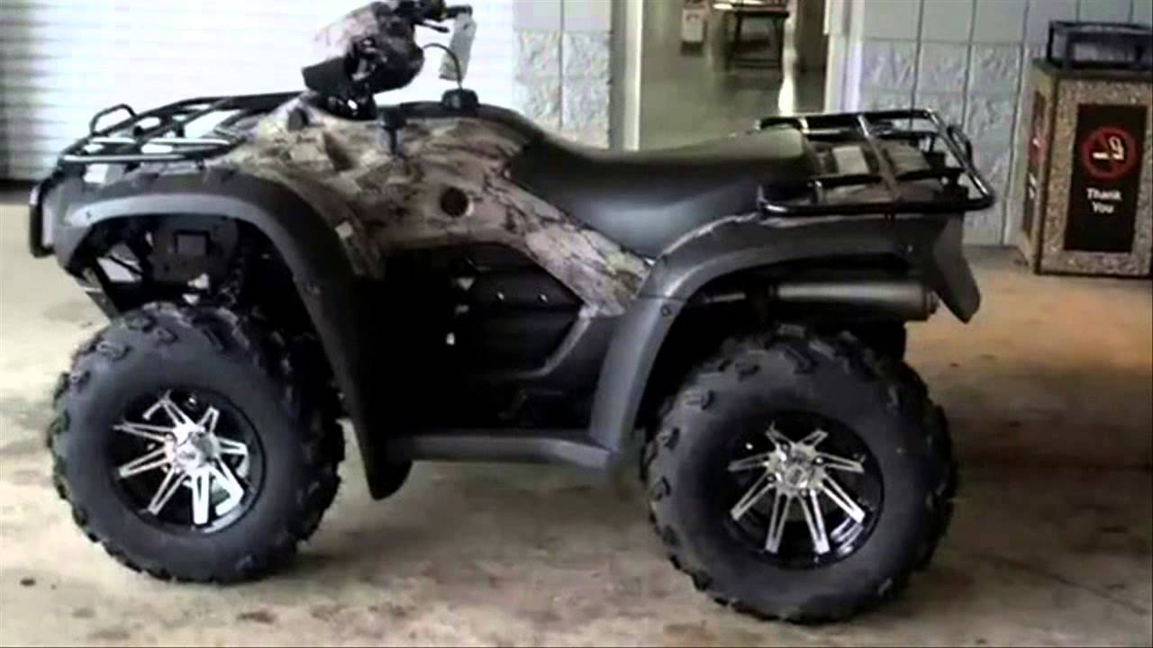 Honda trx500fa rubicon with sti hd wheels tires walk Video hd4