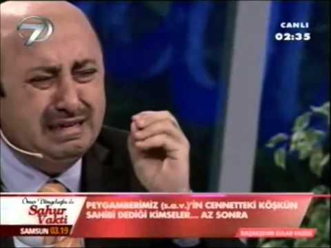 Ömer Döngeloğlu'nun Peygamberimize hakaret edenlere öğüdü izleyenleri gözyaşlarına boğdu