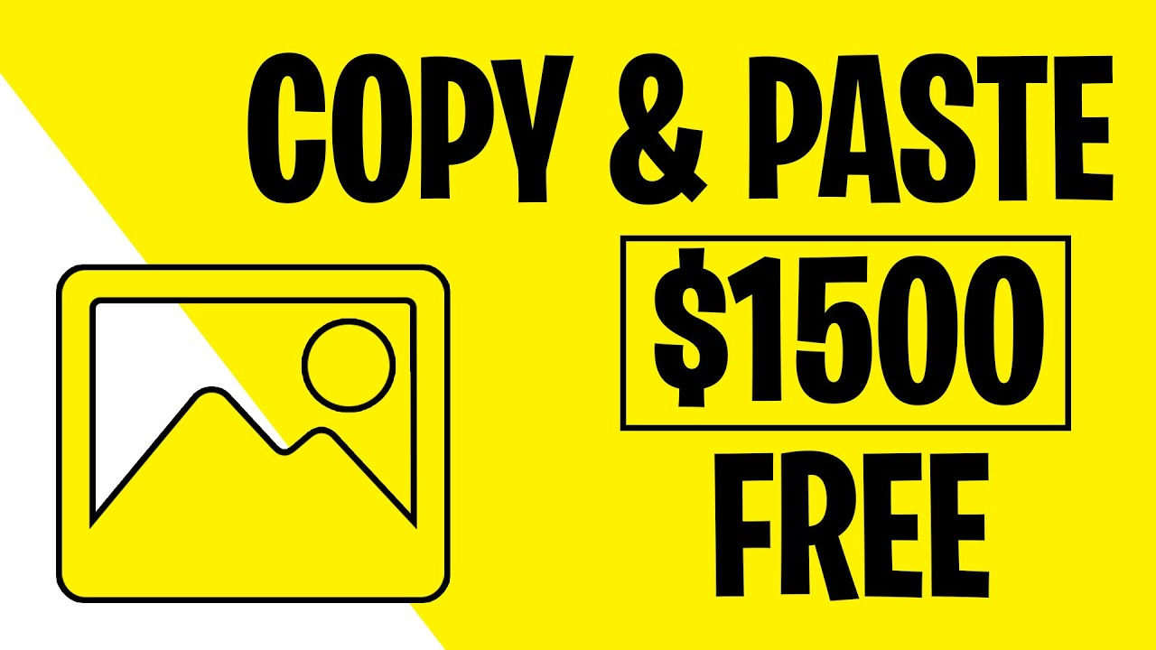 Earn $1,500 just by USING FREE PHOTOS! [Earn Money Online 2021]