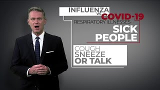 Influenza vs COVID-19: What are the differences and similarities?