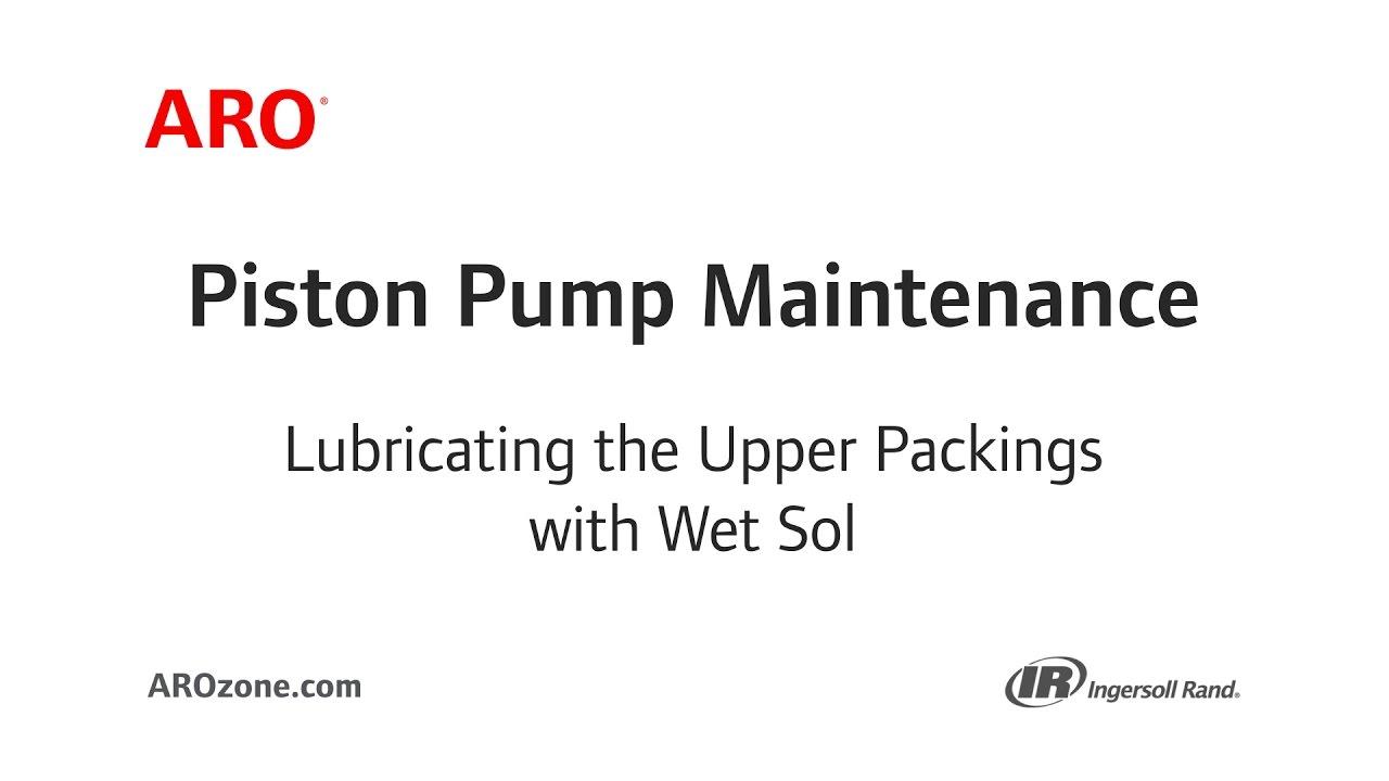 Piston lubrication during operation