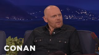 bill burr nothing will change with trump as president conan on tbs
