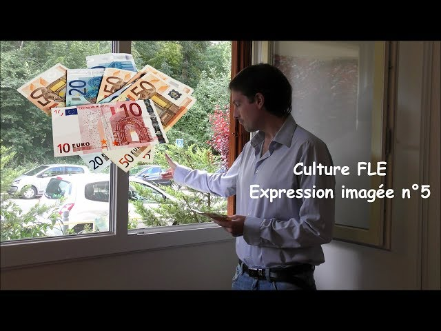 【Culture FLE】Expression imagée n°5