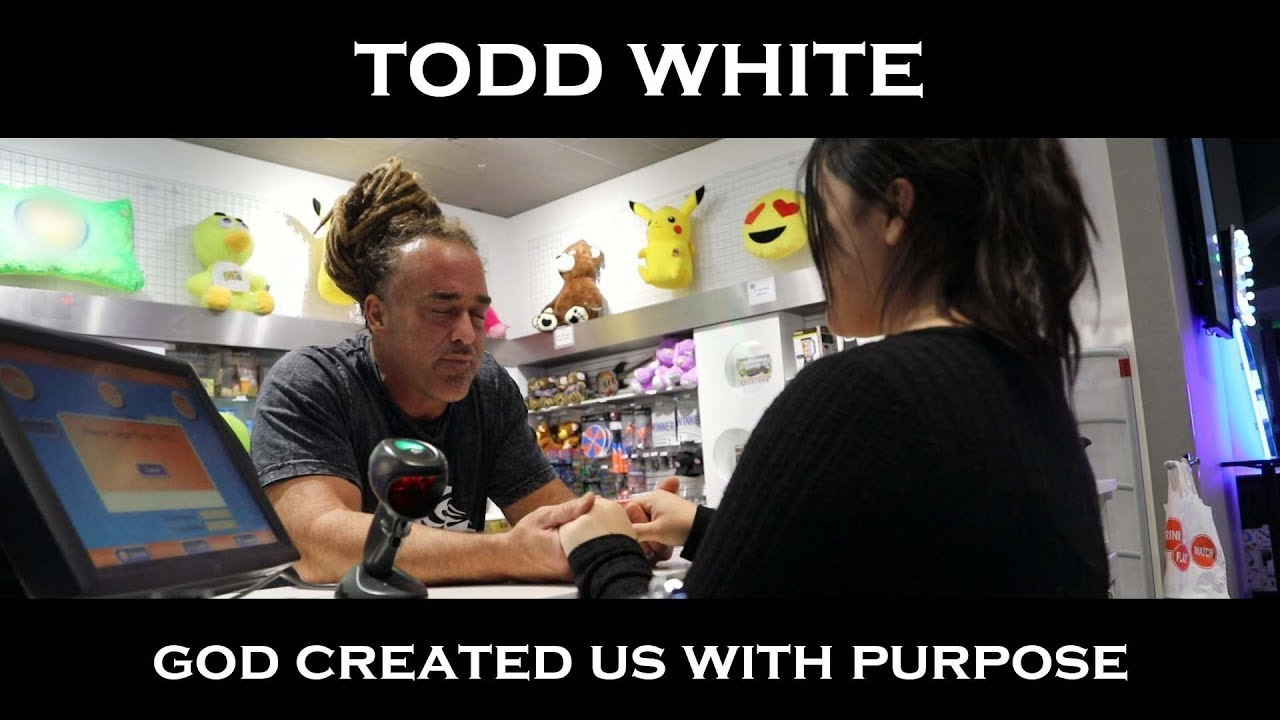 Todd White - God Created Us with Purpose
