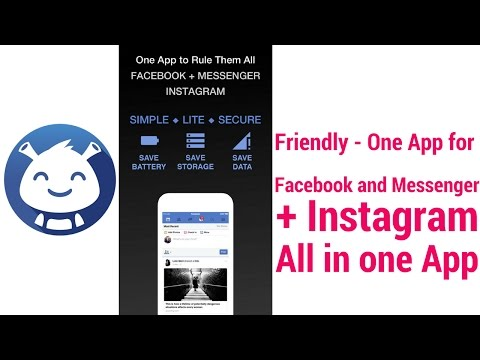 Tech Tips And Tricks Friendly - One App For Facebook And Messenger + Instagram All In One App