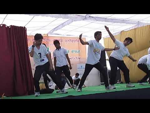 DANCE  THEME..( a beautiful massage by klsd students) YUDHVEER YUDI