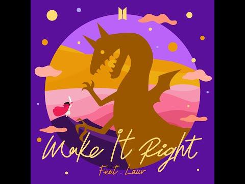 Make It Right (feat. Lauv) (No Rap Version) (Audio) - BTS