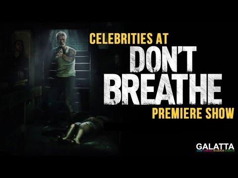 Celebrities At Don't Breathe Premiere Show