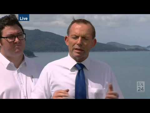 Tony Abbott announces $100m for the Great Barrier Reef