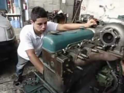 Mercedes Benz Of Tampa >> montagem de motor mecanica diesel dois irmãos scania 113 ...