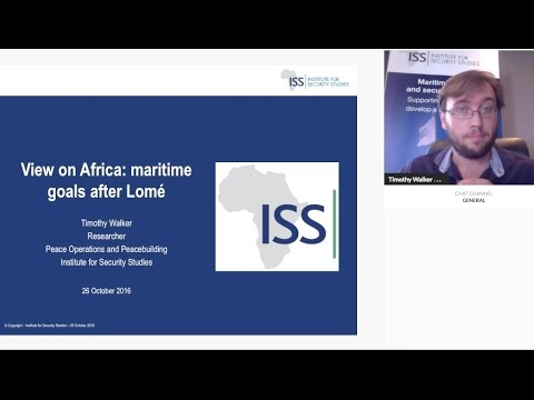 View on Africa: maritime goals after Lomé