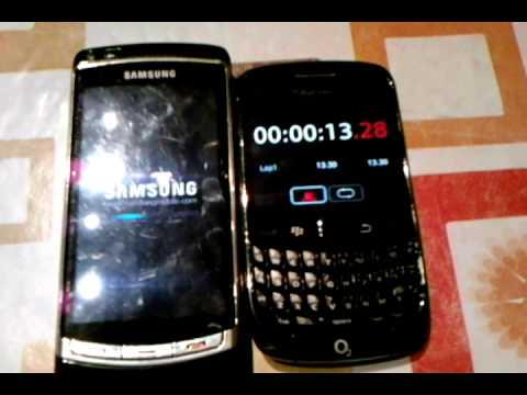 Samsung Omnia HD I8910 Startup Time