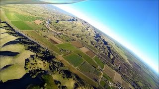 Springtime Flight over Yolo County, California