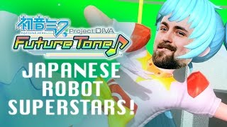 WE ARE JAPANESE ROBOT SUPERSTARS - Hatsune Miku: Project Diva Future Tone Challenge