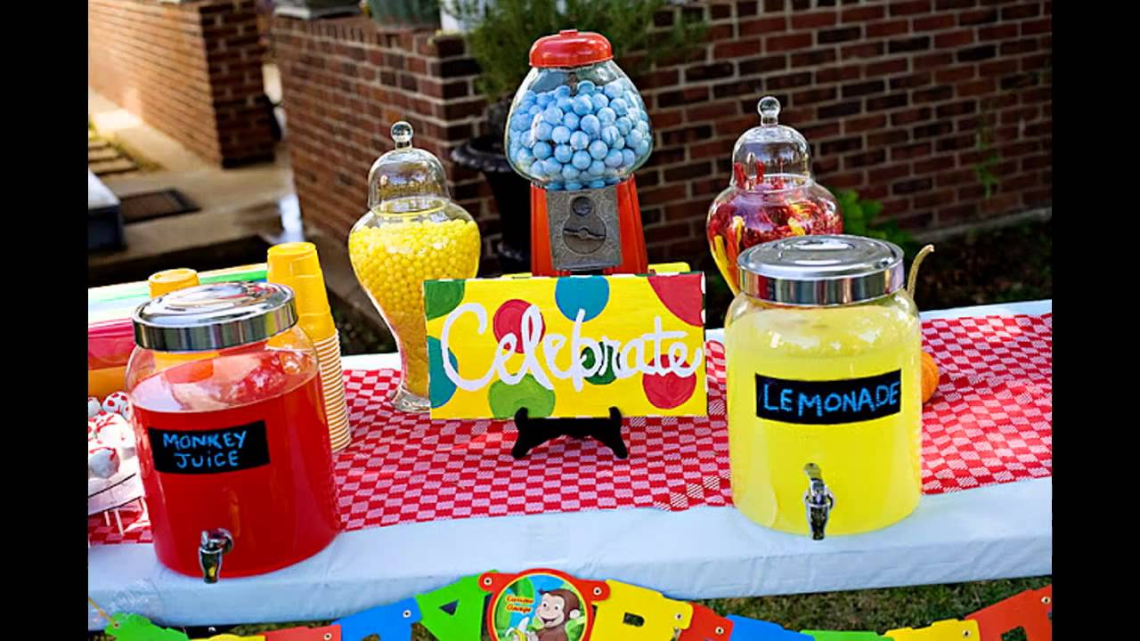 Creative Curious George Party Decorations Ideas Youtube