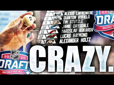 The 2020 NHL Draft Lottery Is Gonna Be CRAZY (NHL Rumours & News Today 2020 - Stanley Cup Playoffs)