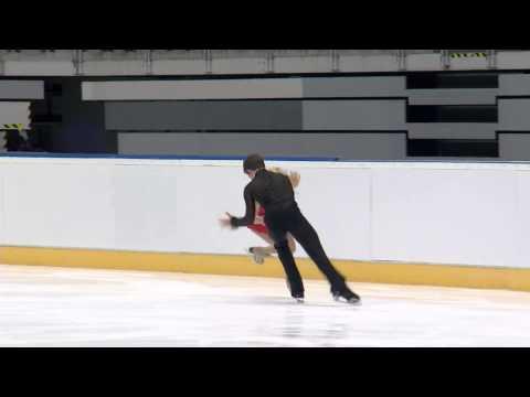 2015 ISU Junior Grand Prix Bratislava Free Dance Rachel PARSONS / Michael PARSONS USA