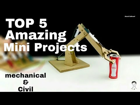 5 Amazing Hydrailic Mini Projects For Engineering Students