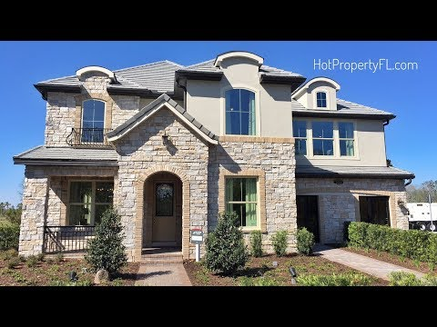 New Homes In Lake Nona,  Wilson Model Home At Belle Vie