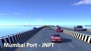 Mumbai Trans Harbour Link MTHL Longest Sea Bridge in India