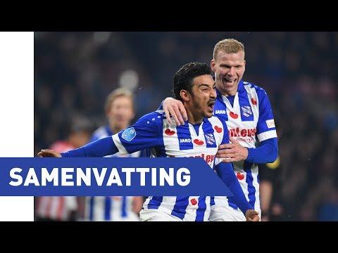 Eredivisie speelronde 24: PSV - sc Heerenveen (2017/2018)