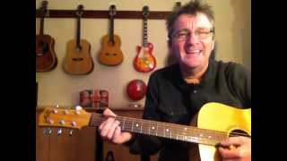 Pretty Maids all in a Row by The Eagles - Guitar Lesson with easy chords