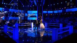 """Голос. Алина Чувашова и Давид Бугаев. 18.10.2013 - """"Where the wild roses grow"""""""