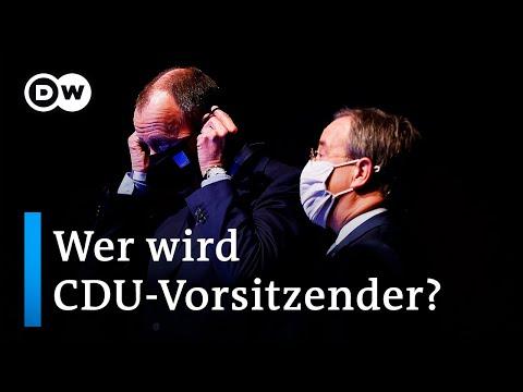 Online-Parteitag: Showdown um den CDU-Vorsitz | DW Nachrichten