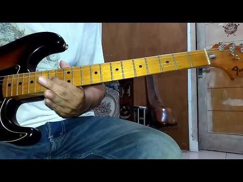 Bayangan ( U Camp ) solo guitar tutorial